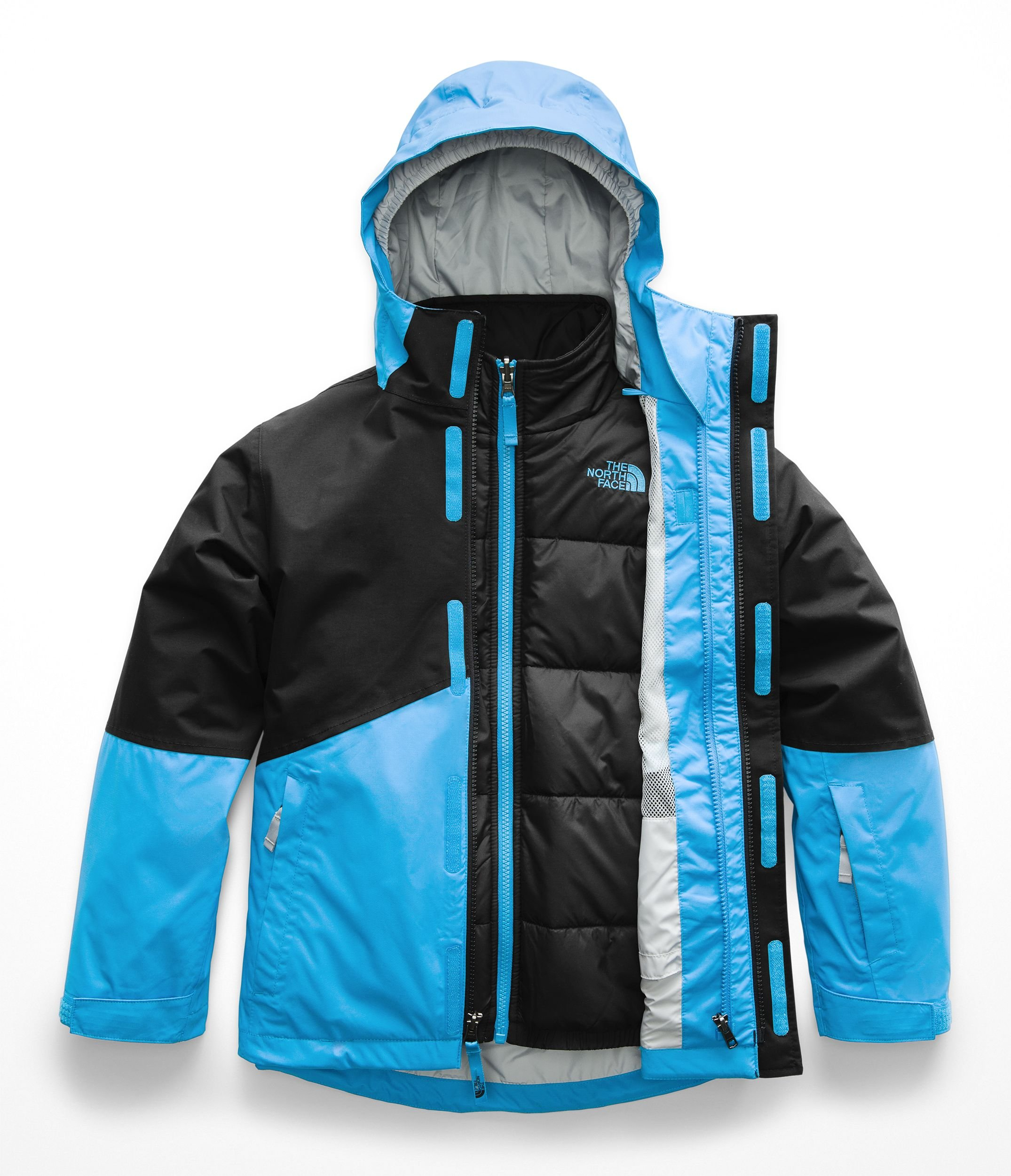 The North Face Kids Boy's Boundary Triclimate¿ Jacket (Little Kids/Big Kids) Hyper Blue X-Large