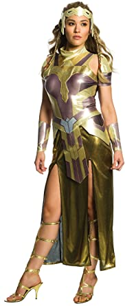 Rubieu0027s Womenu0027s Wonder Woman Movie Deluxe Hippolyta Costume As Shown ...  sc 1 st  Amazon.com & Amazon.com: Rubieu0027s Costume Co. Womenu0027s Wonder Woman Movie Deluxe ...