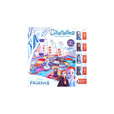 Disney Frozen 2 Family Board Game Charades Kids Age 4,5,6,7 Years Old: Toys & Games