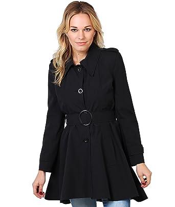 KRISP Single Breasted Trench Coat Women Raincoat Lightweight