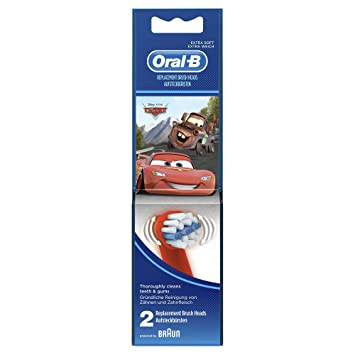 Oral-B - Cabezales de recambio EB Stages Power para cepillo de dientes eléctrico (2 unidades) (surtido) : Amazon.es: Salud y cuidado personal