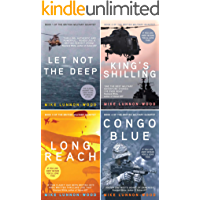 The British Military Quartet: Four gripping thrillers in one must-read box set: Let Not The Deep, King's Shilling, Long Reach and Congo Blue.