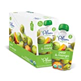 Amazon Price History for:Plum Organics Stage 2, Organic Baby Food, Pear and Mango, 4 ounce pouch (Pack of 12)
