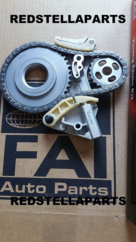 FAI Pompe /à huile Pignon de cha/îne Tendeur de courroie pour A4/A6/Passat 2.0/Tdi