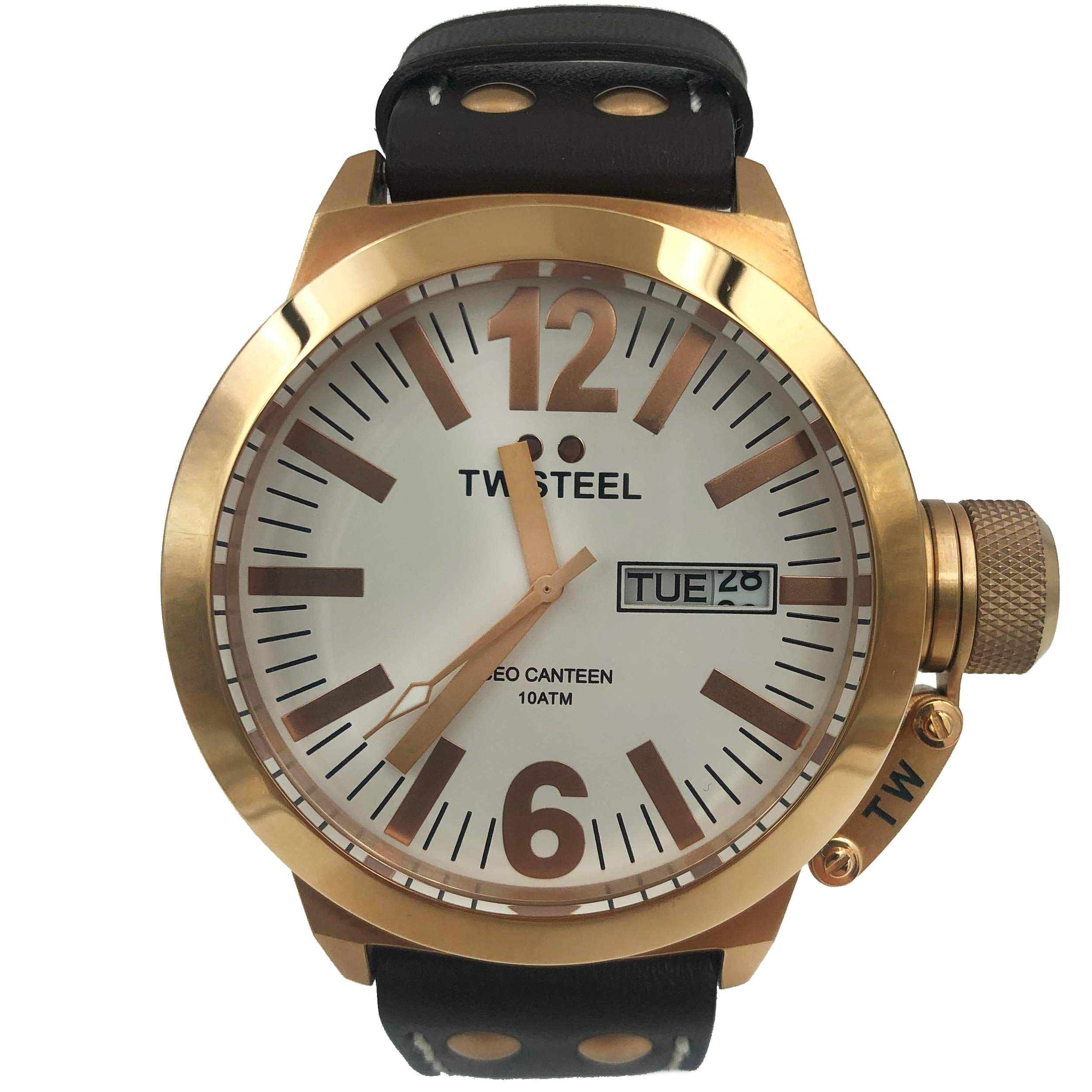 TW Steel Canteen Quartz Male Watch CE1017 (Certified Pre-Owned)