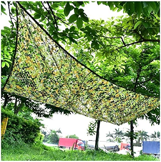 Camuflaje Neta Verde 3x5m Sombrilla Camuflaje Neta Jardín Decoración Red Pesca Protector Solar Tienda De Campaña Sombra De Coche Cubierta De Coche Neta Caza De La Caza Fotografía Fondo Tela 2m4m6m8m: Amazon.es: