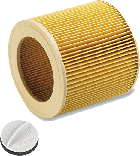 Cartuchos Filtro para aspiradora en húmedo/seco húmedo Aspiradora Kärcher A 2204 2254 2101 2201 wd2 WD3 MV2 MV3 wd2.200 wd3.500 P WD 3.200, WD 3.300 M, WD 3.500 P como 6.414 – 552.0 4 pcs: Amazon.es: Bricolaje y herramientas