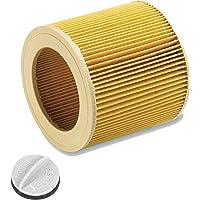 Patronen Filter für Nass-/ Trockensauger Nasssauger/Mehrzwecksauger/Waschsauger Kärcher A 2204 2254 2101 2201 WD2 WD3 MV2 MV3 WD2.200 WD3.500 P WD 3.200, WD 3.300 M, WD 3.500 P wie 6.414-552.0