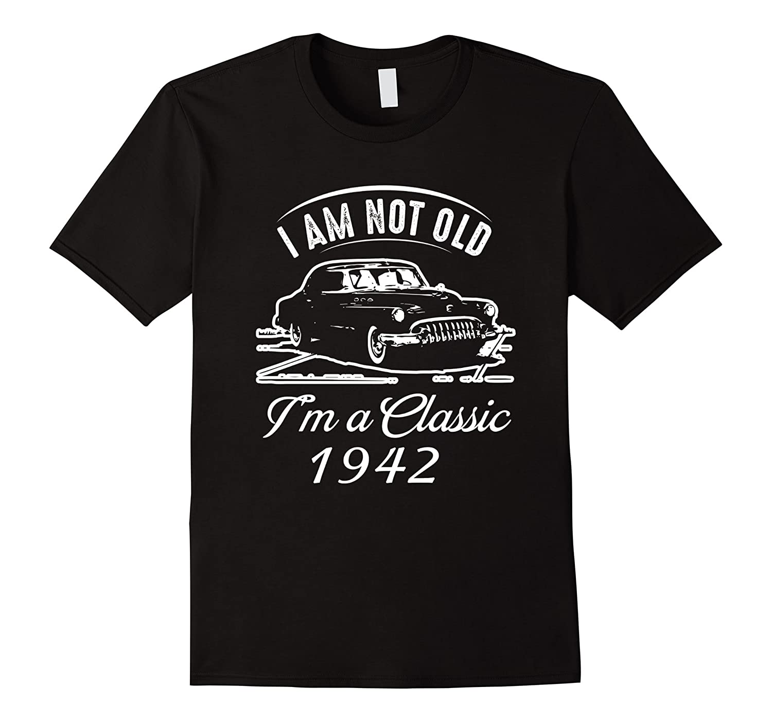 Classic 1942 75th Birthday Tshirt Awesome Since 75 Years Tee-ANZ