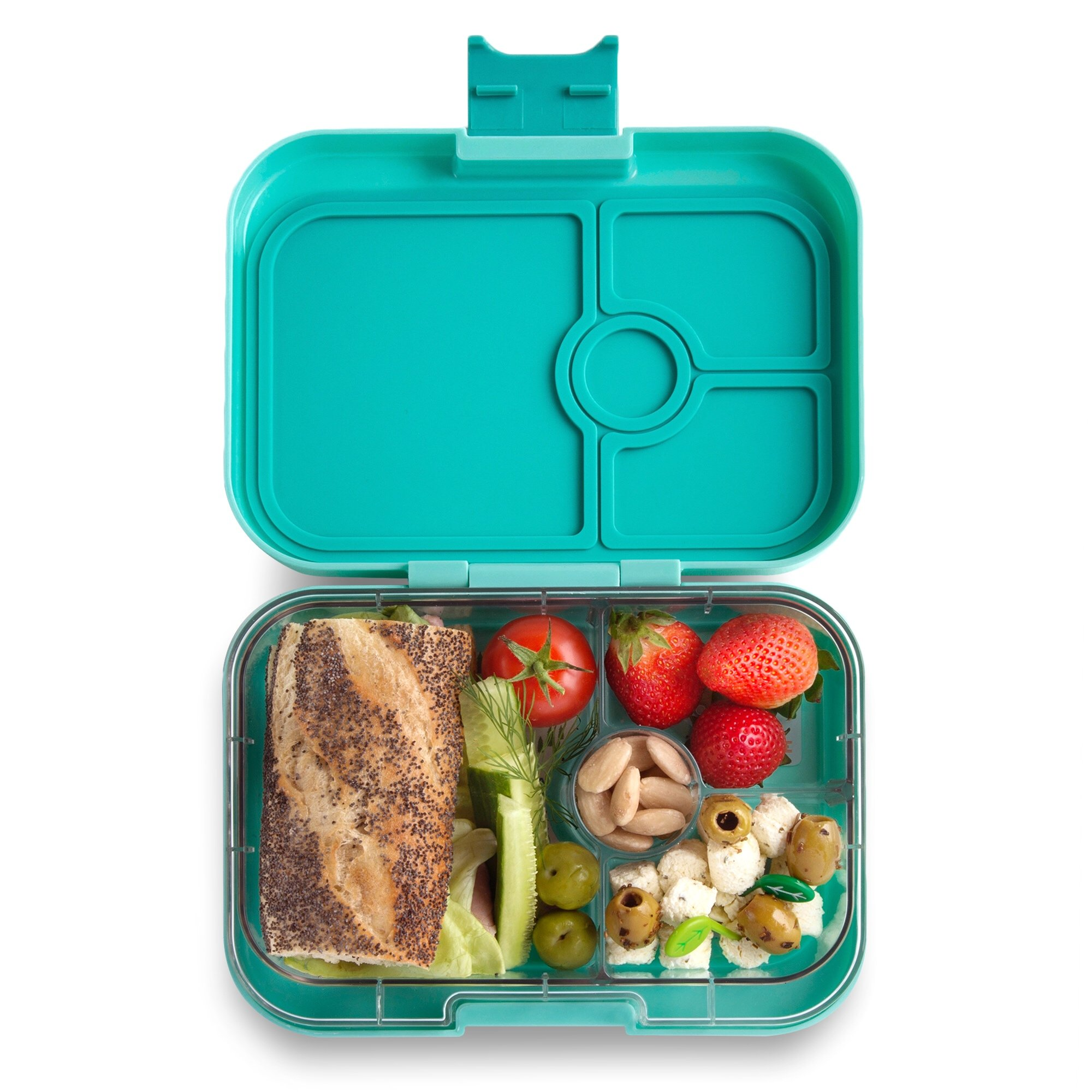 YUMBOX Panino (Surf Green) Leakproof Bento Lunch Box Container for Kids & Adults