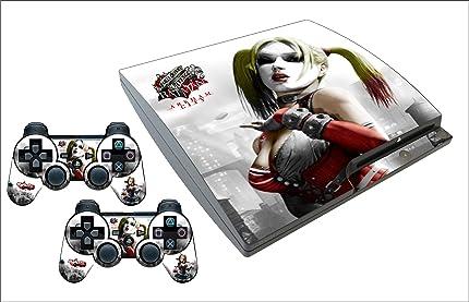 Amazon.com: Harley Quinn PS3 Slim Skin: Video Games