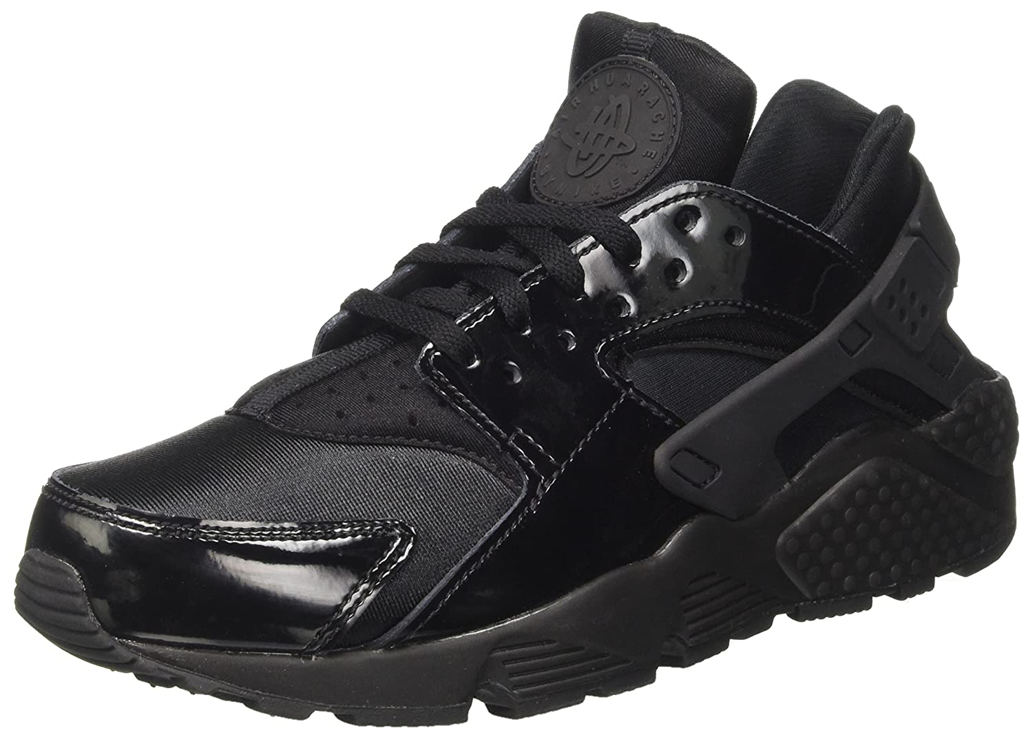 8 NIKE WMNS Air Huarache Run Casual Sneakers Women Black 634835-026 New