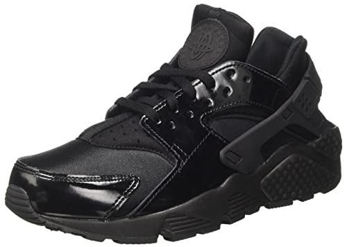 superior quality 934f2 8a9df Nike Air Huarache Run, Zapatillas para Mujer, Negro Black, 36.5 EU   Amazon.es  Zapatos y complementos
