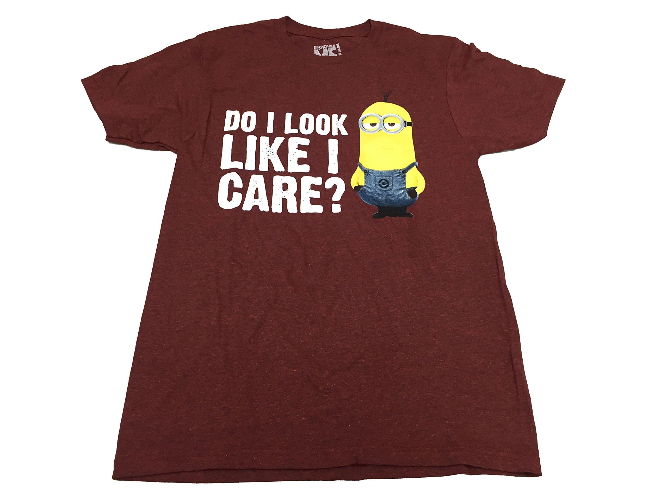 Despicable Me Minion Do I Look Like I Care T Shirt 2137