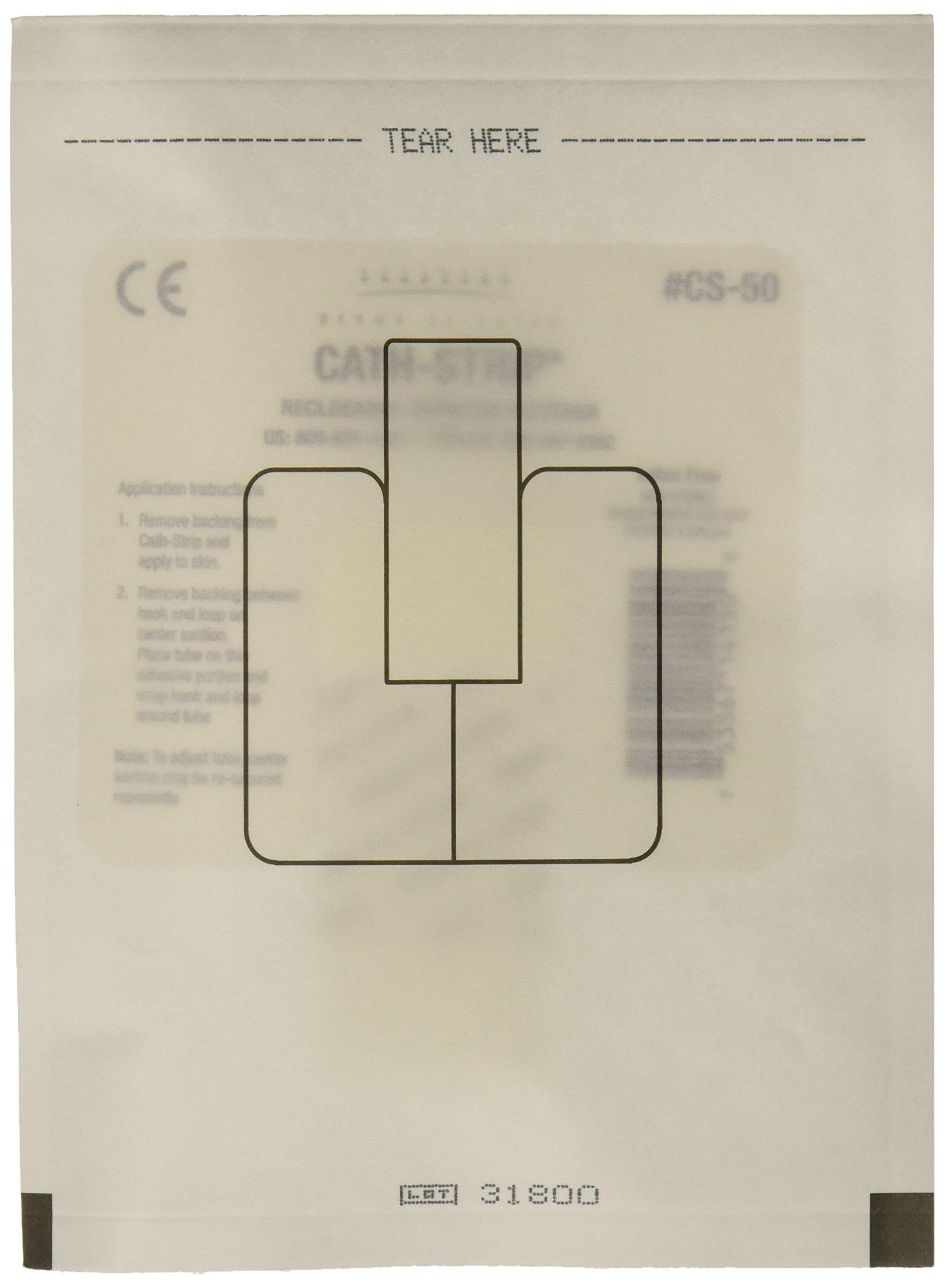 Derma Sciences CS50 Cath-Strip Reclosable Catheter Fastener (Pack of 50)