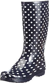 Chuva Damengummistiefel Stip CHSTIP Damen Stiefel, schwarz(zwart) EU 39