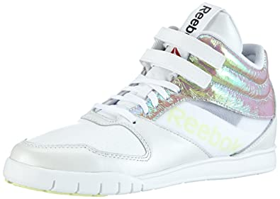 f4c706c6e0af27 Reebok Women s Ur Lead Mid SE Jazz   Modern Dance Shoes White Size  2.5
