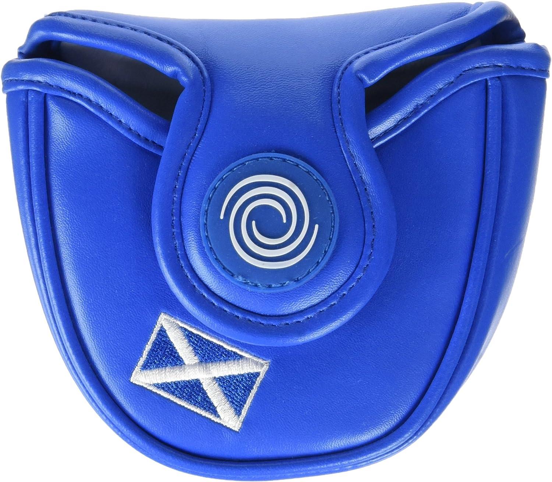 Calaway Escocia Mallet Funda Putter de Golf, Blanco/Azul, Talla ...