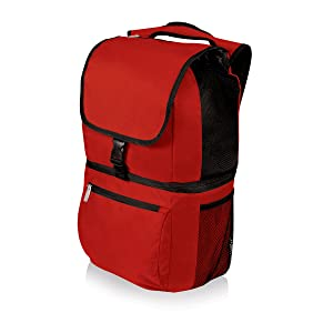 ONIVA - a Picnic Time Brand Zuma Insulated Cooler Backpack, Red