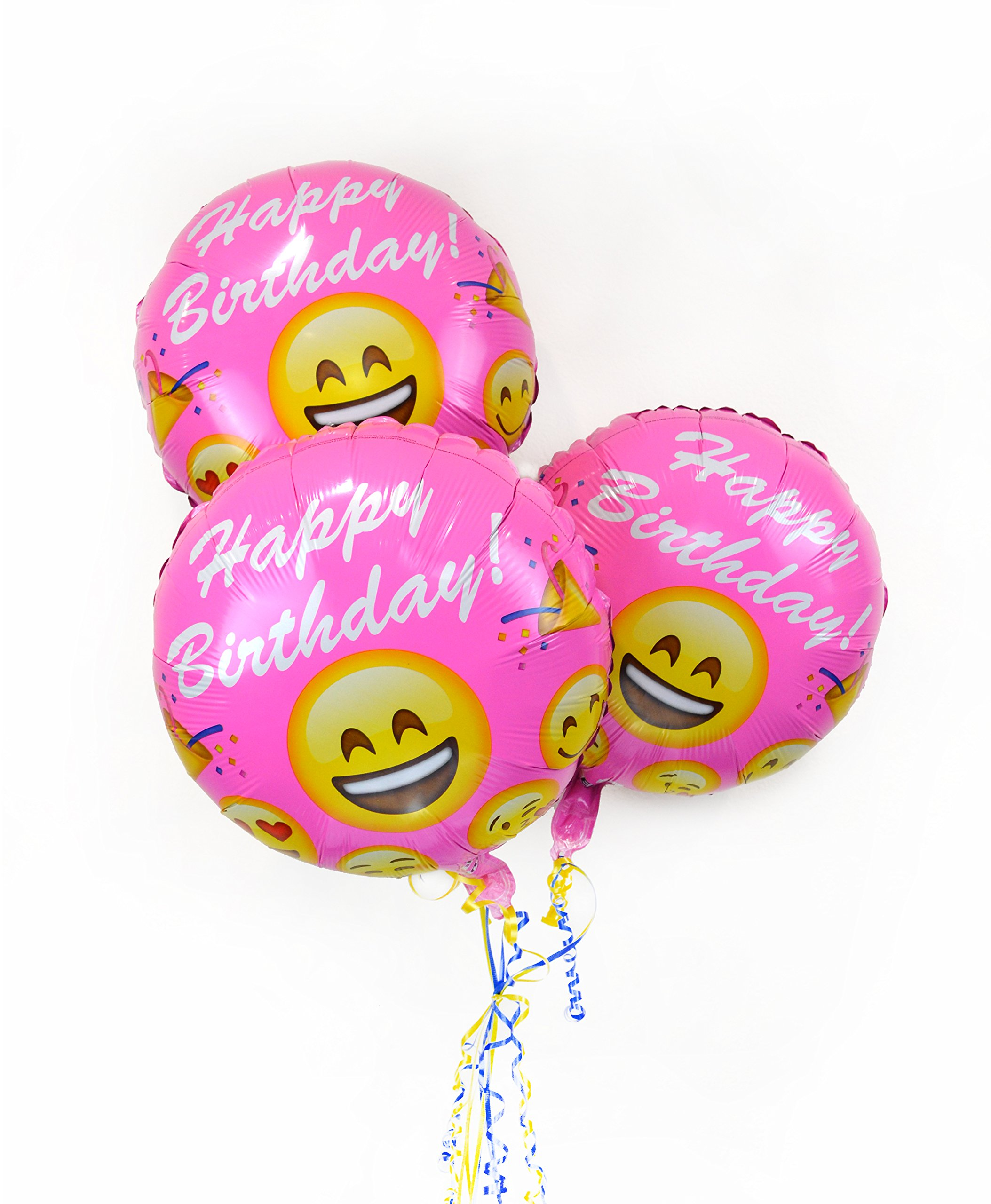 Amazon.com: Emoji Birthday Balloons