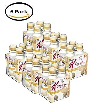 Amazon.com: Pack de 6 – Special K Protein Shake Vainilla, 4 ...