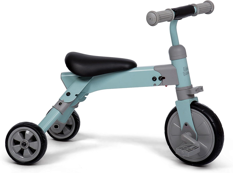 Triciclo Plegable convertible en Correpasillos - Ruedas silenciosas de Goma