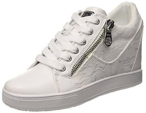 Guess Footwear Active Lady, Zapatillas para Mujer, Blanco (White White), 35 EU Guess