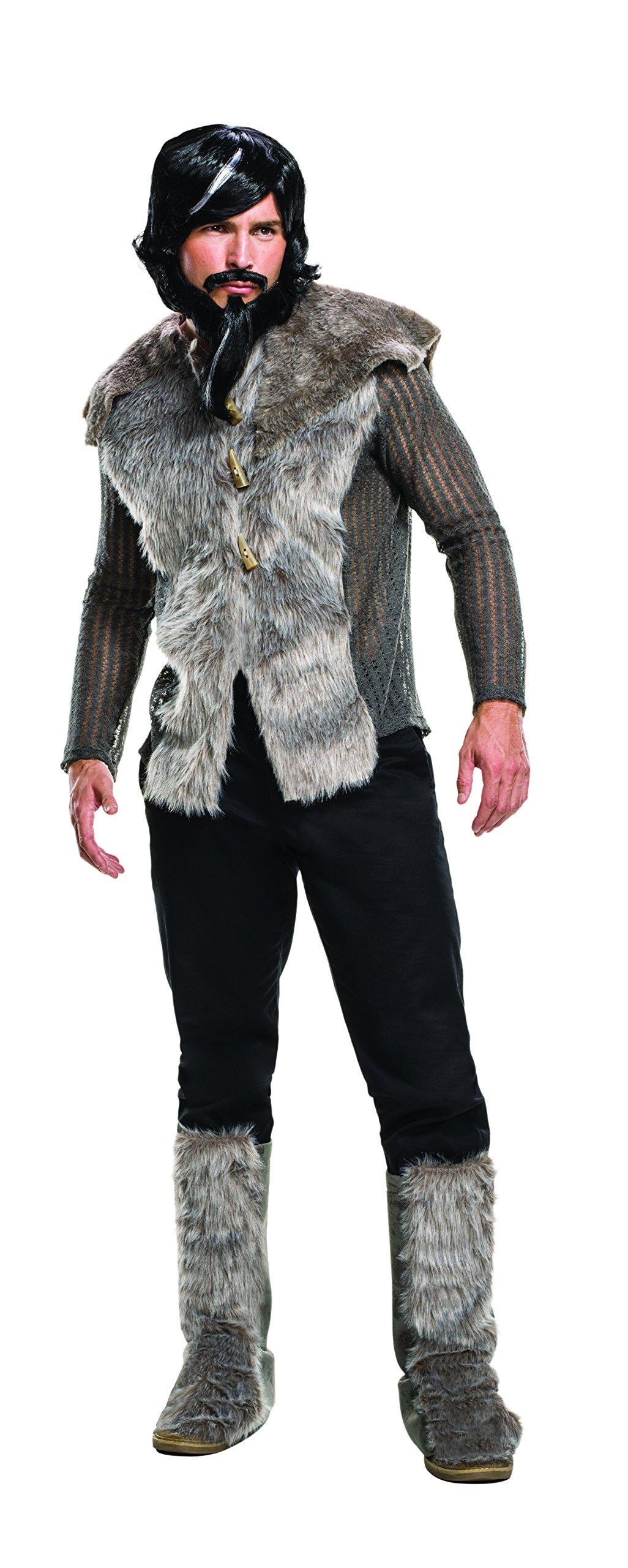 Rubie's Men's Zoolander 2 Derek Faux Fur Coat Costume, Multi, X-Large