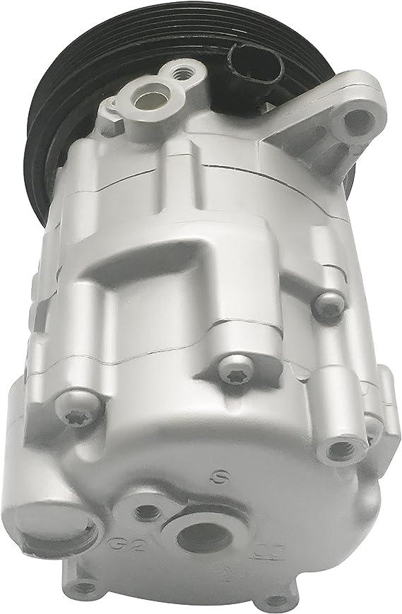 RYC Remanufactured AC Compressor and A//C Clutch EG267