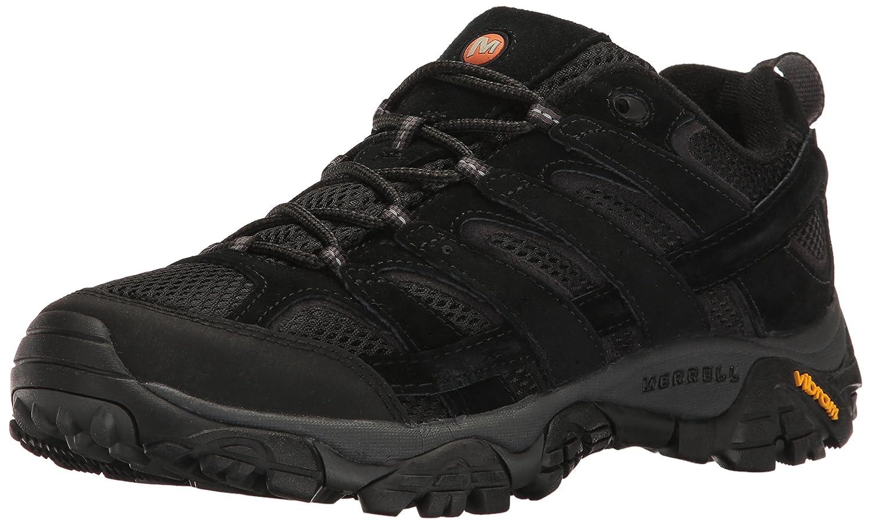 Merrell Men's Moab 2 Vent Hiking Shoe 7 D(M) US|Black Night