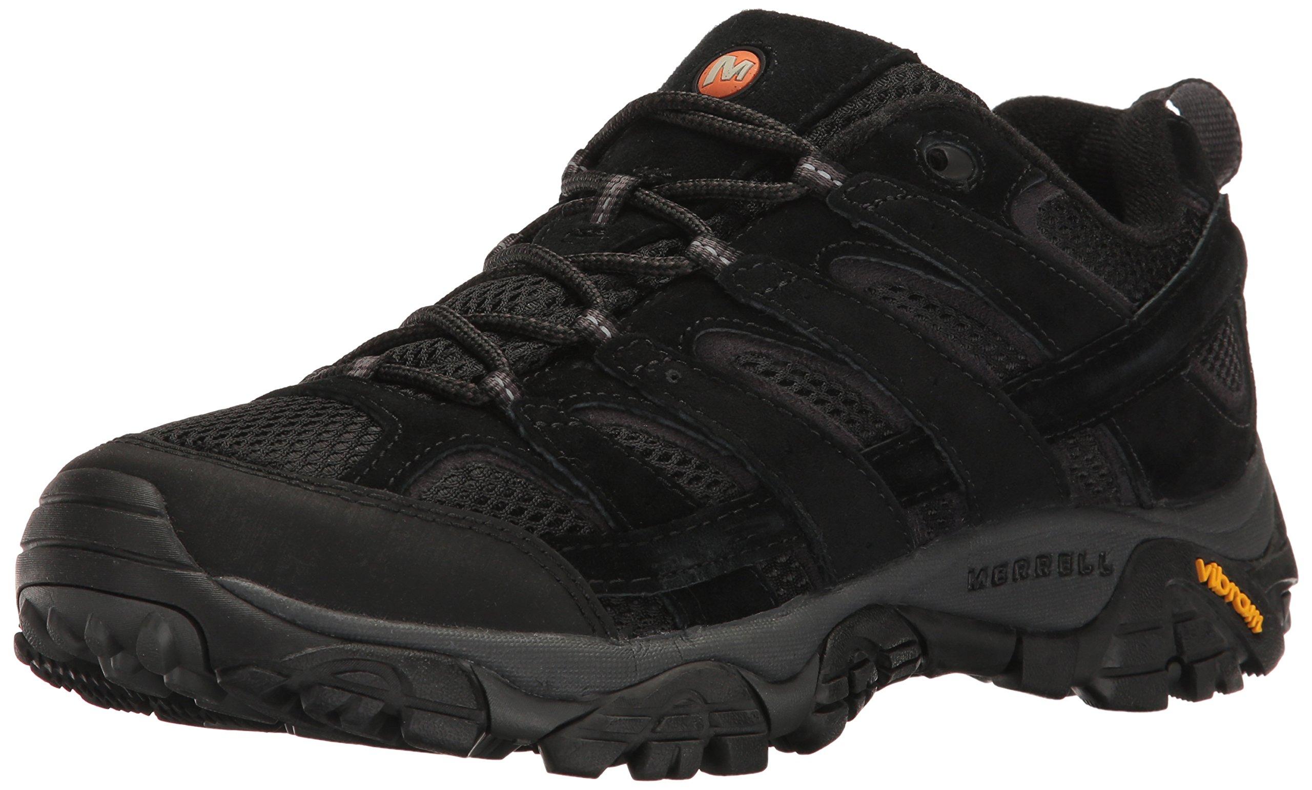 Merrell Men's Moab 2 Vent Hiking Shoe, Black Night, 13 M US