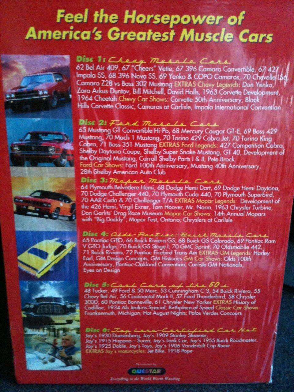 Amazon com: Legendary Muscle Cars: Movies & TV