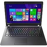Lenovo IdeaPad 100 35,6 cm (14 Zoll HD) Laptop (Intel Celeron N2840 Dual-Core Prozessor, 2,6GHz, 2GB RAM, 250GB HDD, Intel HD Grafik, ohne Betriebssystem) schwarz