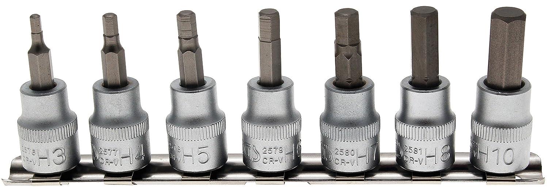BGS Technic 9105 Juego de llaves de vaso