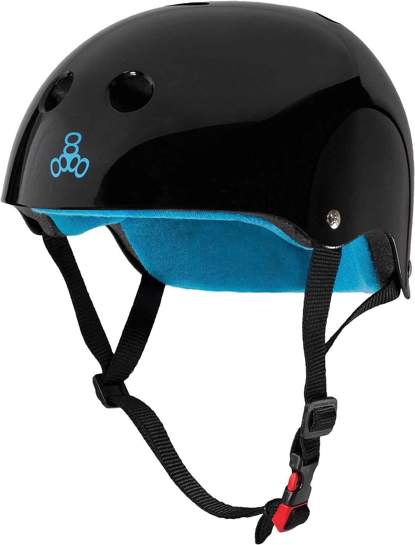 Medium Triple Eight Dual Certified Multi-Sport Helmet Kelly Green Matte Small