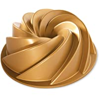 Nordic Ware 80677 Heritage Bundt Pan, One, Gold