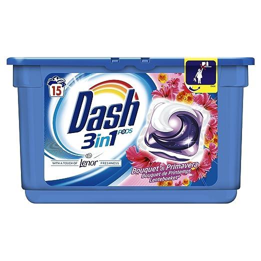 47 opinioni per Dash Pods 3 in 1 Bouquet di Primavera, 15 Lavaggi- 3 confezioni da 15 pezzi [45