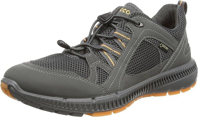 ecco Terracruise Herren Low Sneaker Blau Schuhe,   real