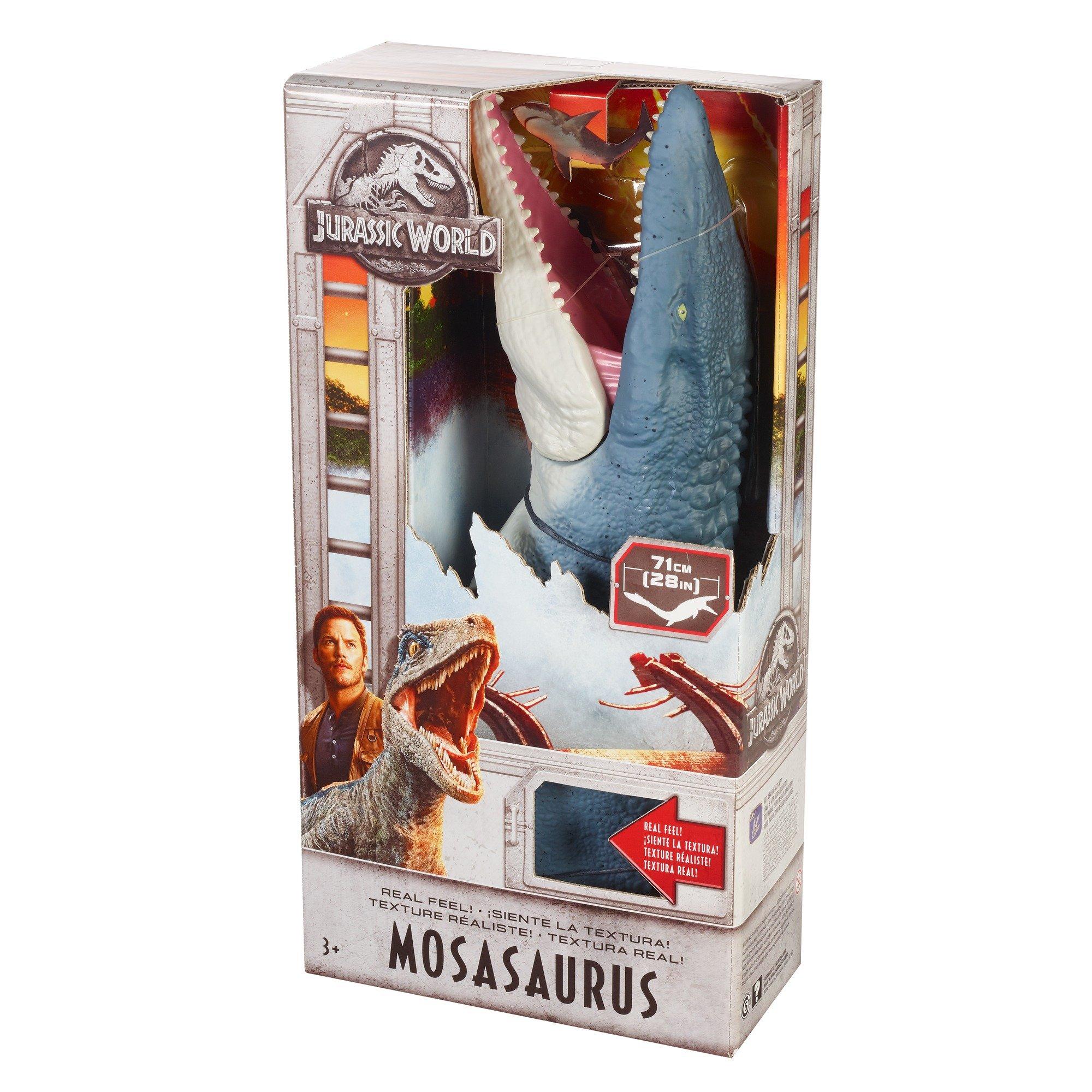 Jurassic World Real Feel Mosasaurus Figure by Jurassic World Toys (Image #6)