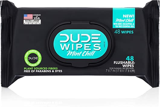 Dude Wipes Crib Edition Flushable Wipes