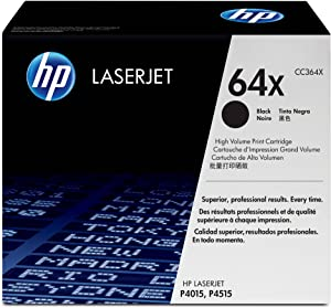 HP 64X | CC364X | Toner Cartridge | Black | High Yield