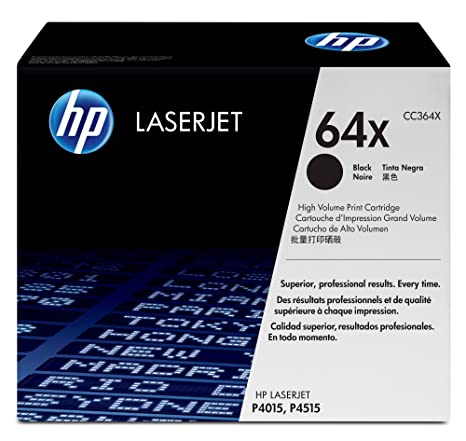 Amazon.com: HP 64 X (CC364 X) Black High Yield Original ...