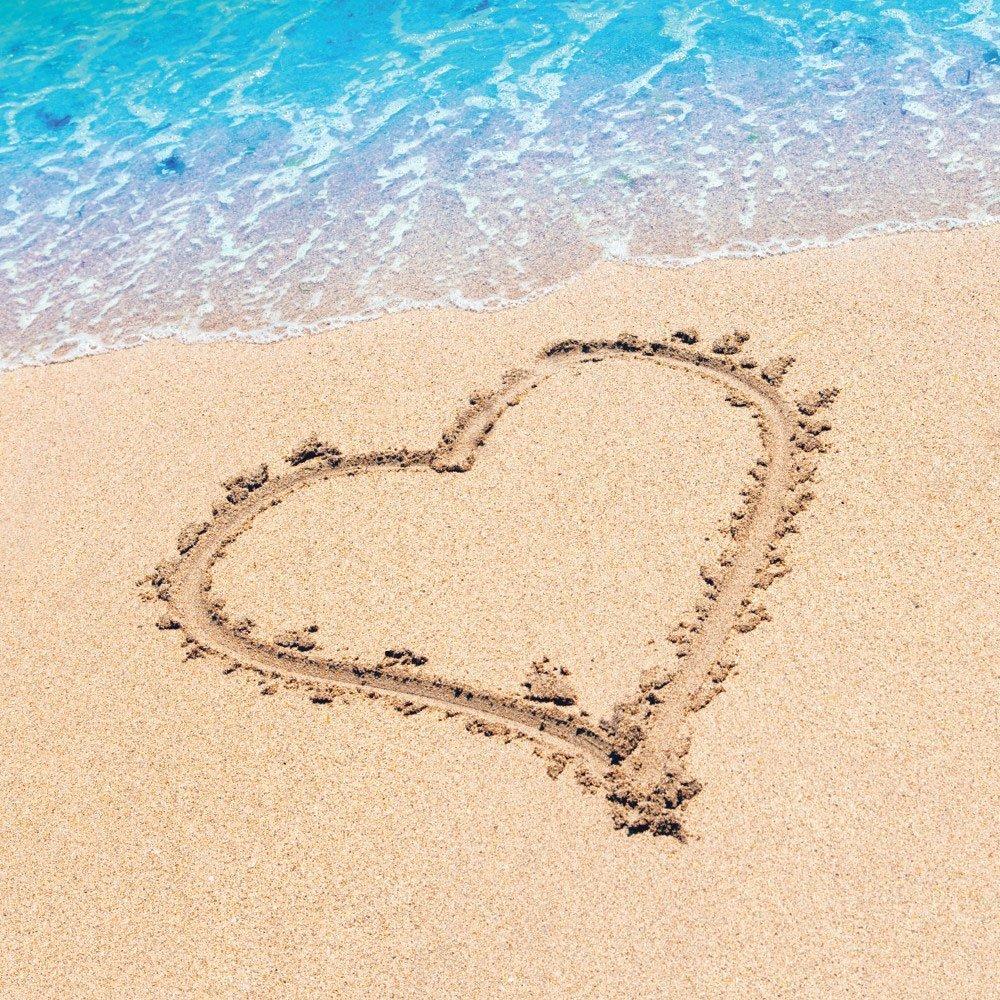 Beach Love Wedding Dessert Napkins & Plates Party Kit for 8