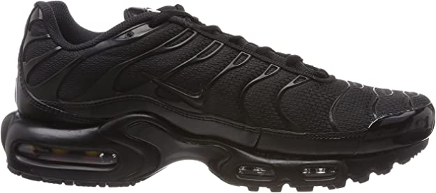 Details about NIKE AIR MAX PLUS TN TUNED BLACK ALL SIZES BRAND NEW ADULTS & KIDS 604133 050