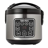 Aroma Cool Touch Food Steamer & Rice Cooker
