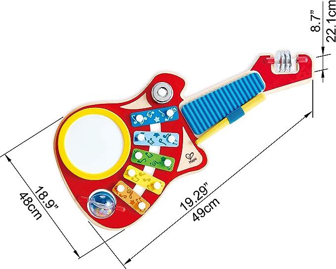 Hape International- Guitarra Infantil 6 En 1, Multicolor (E0335 ...