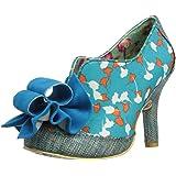 Irregular Choice Womens Hook Line Sinker Court Shoes