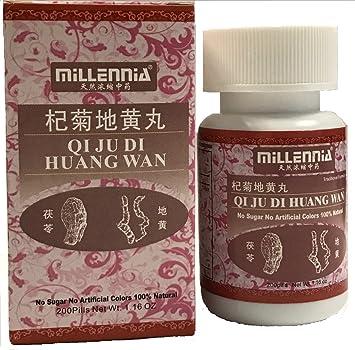 Amazon com: Qi Ju Di Huang Wan 200Pills by Millennia: Health