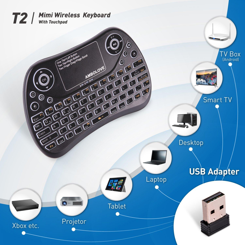 Mini Tastatur, Deutsches Tastatur-Layout Air Maus: Amazon.de ...