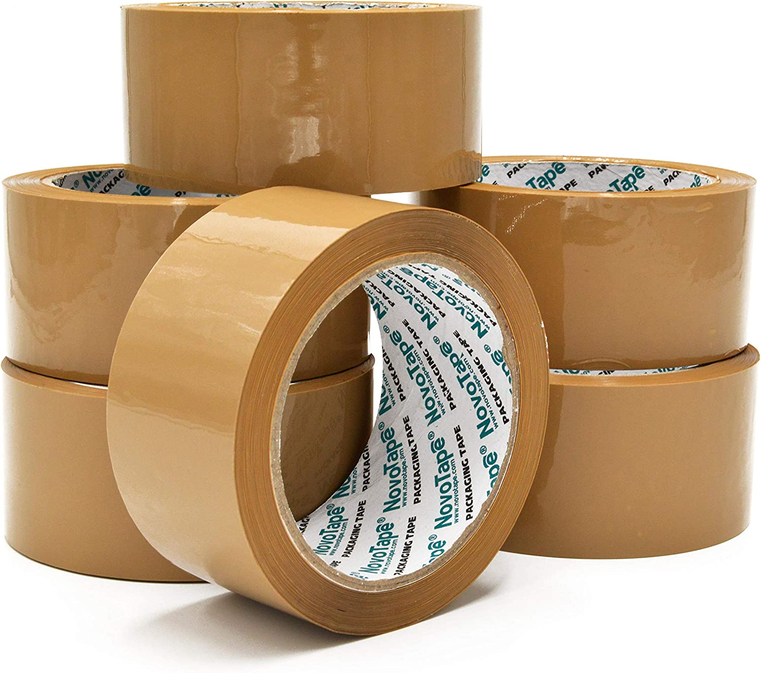 PARCEL TAPE STRONG PACKING TAPE 48mm x 66M Rolls OF BROWN CLEAR FRAGILE